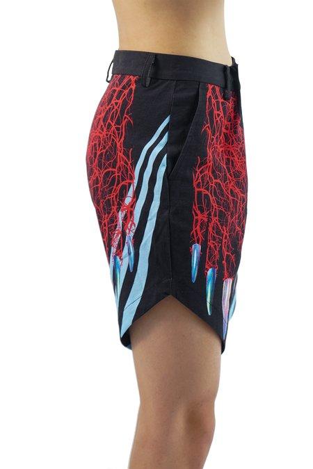 ELKEL x Diego Montoya Printed Shorts - Claws