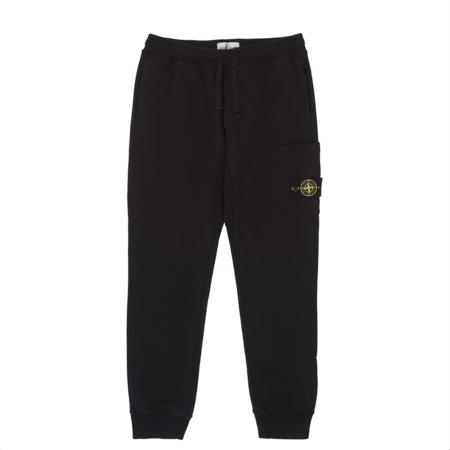 Stone Island Garment Dyed Sweat Pant - Black
