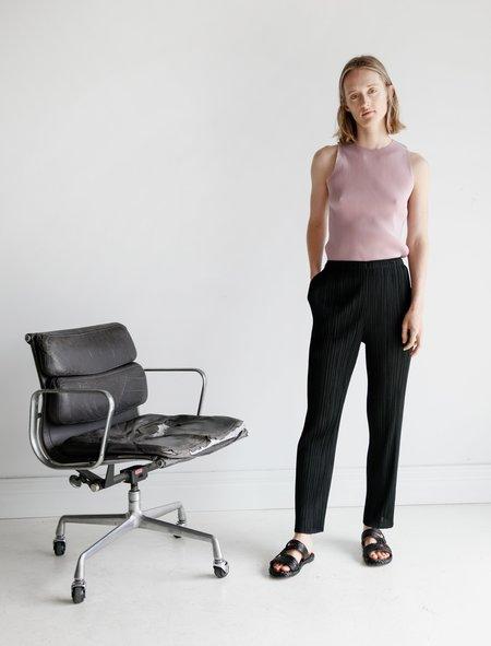 PLEATS PLEASE ISSEY MIYAKE Basics Straight Pants - Black