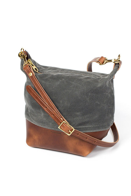 Wood & Faulk Field Bag North Coast Grey