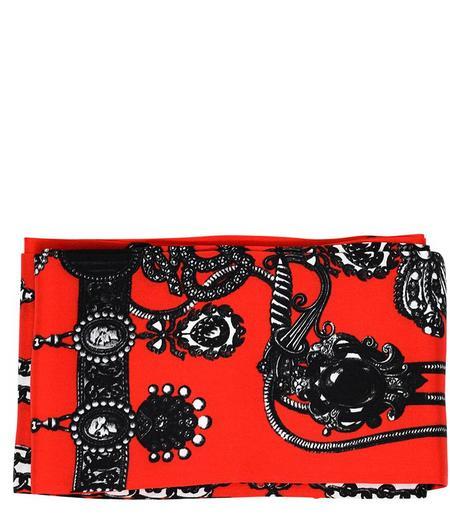 St. Piece Helen Silk Scarf - Red