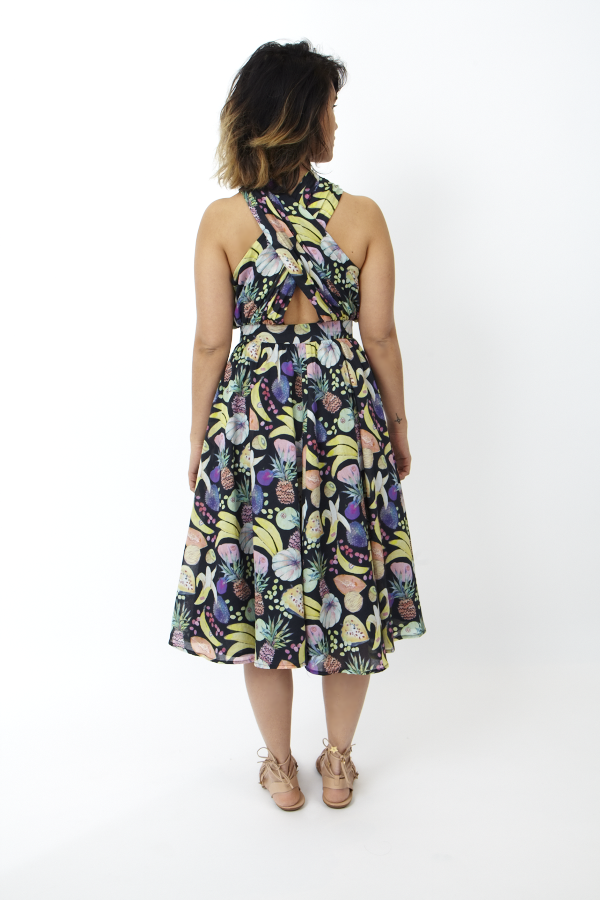 Rachel Antonoff Samantha Halter Wrap Dress