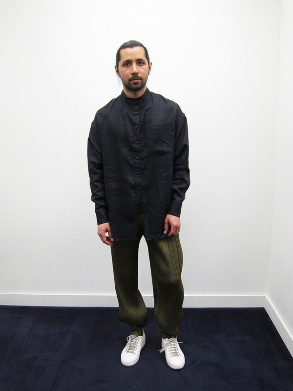 Issey Miyake Ankle Angle Pant