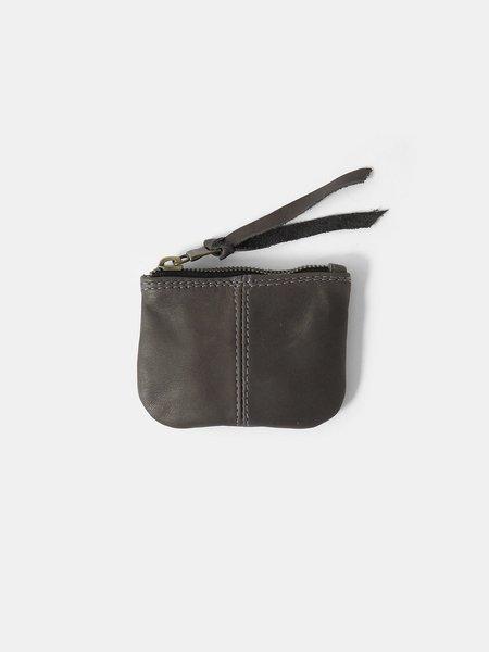 Erica Tanov leather coin purse - dark grey