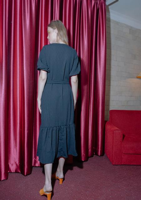 ENSEMBLE THE LABEL SOLSTICE DRESS - BLACK