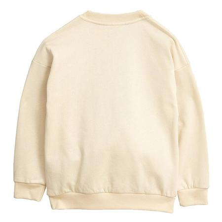 KIDS Mini Rodini Sweatshirt With Forever Young Print - Off-White