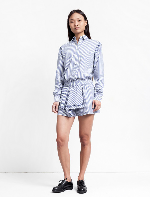 Thakoon Addition Striped Jumper