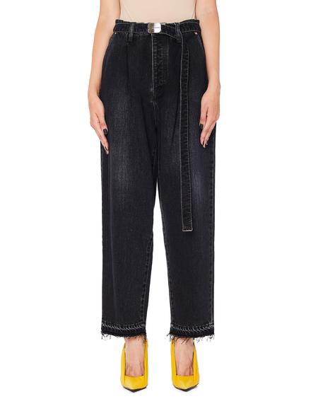 Doublet Cotton & Cashmere Jeans - Black