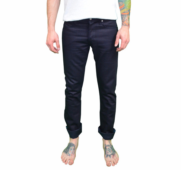 Men's United Stock Dry Goods Slight Navy Selvage
