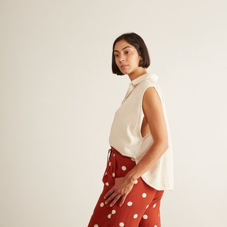 Atelier Delphine Circle Shirt - Kinari