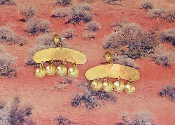 Sonambulo: Martillo Dome Earrings
