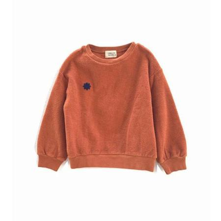 Kids Long Live the Queen Terry Sweatshirt - Pumpkin