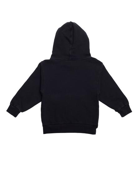 Kids Balenciaga Cotton Hoodie - Black