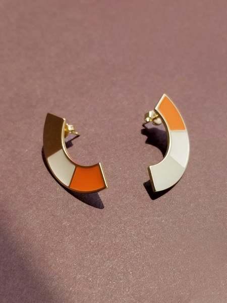 Matter Matters Striped Tri Earrings