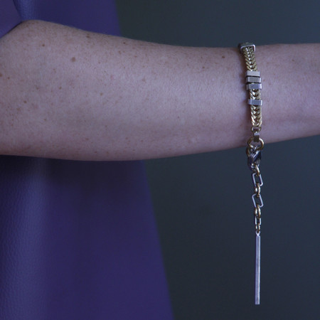 ALYNNE LAVIGNE - Flat Chain Bracelet