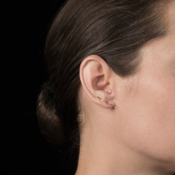 Alynne Lavigne Long Wave Studs