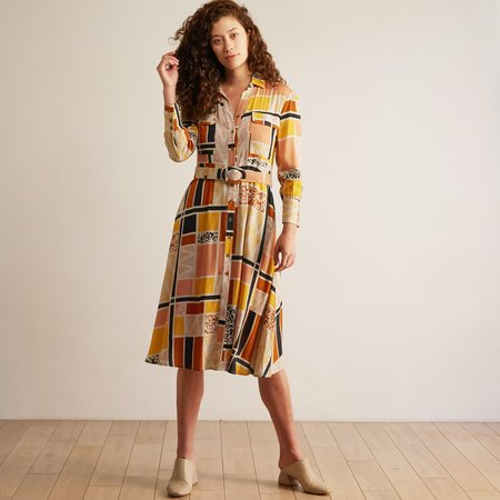 THE ODELLS Utility Dress - TUNIS