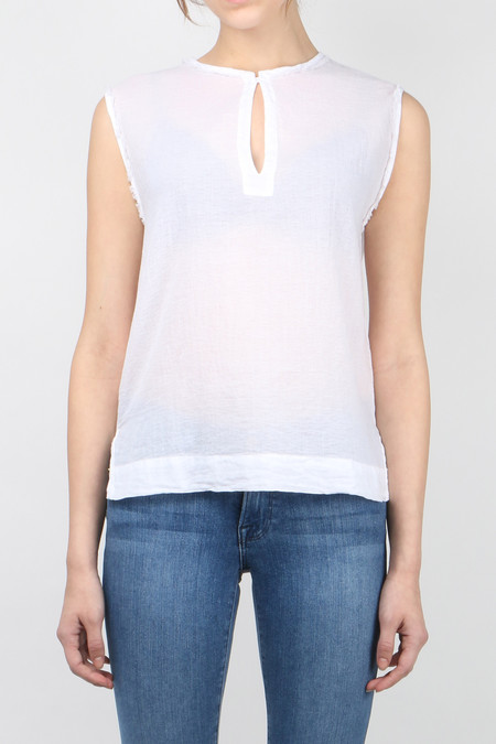 Pomandere Raw Edge Top