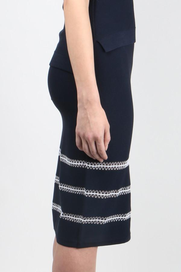 Jonathan Simkhai Tower Trim Pencil Skirt