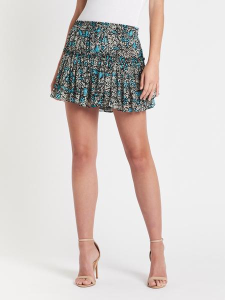 Misa Los Angeles Kahlo Skirt - blue