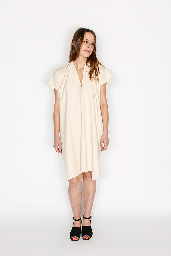 Miranda Bennett Natural Everyday Dress | Cropped Denim