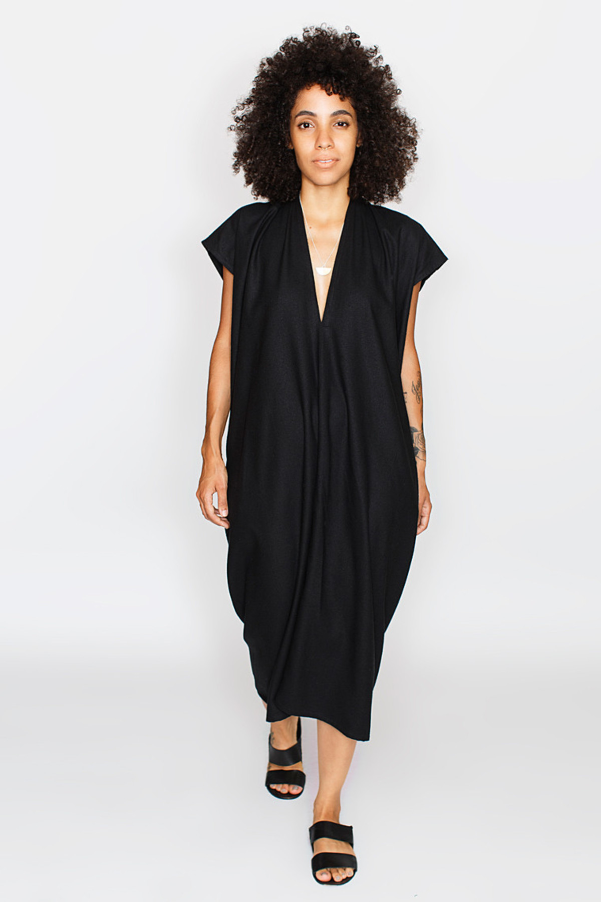 Black everyday dress