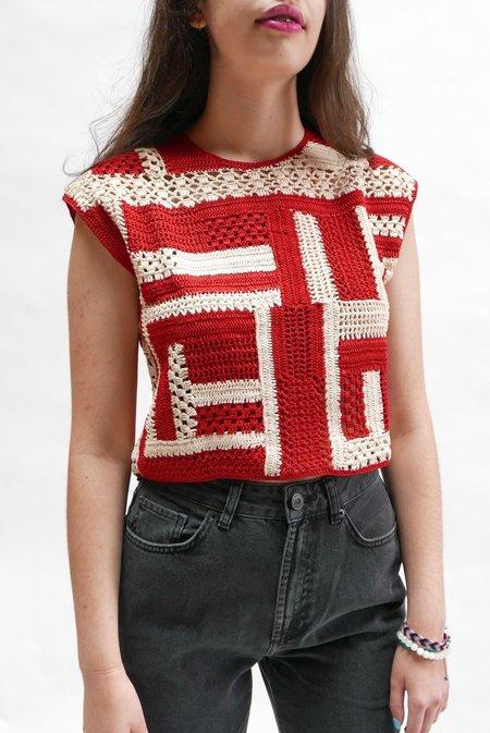 Rachel Comey Urchin Top - Red