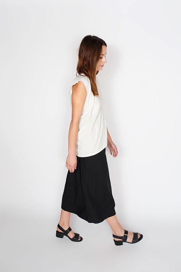 Miranda Bennett Natural Everyday Top, Silk