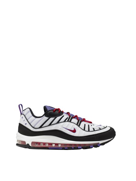 Nike Air Max 98 Raptors sneaker - White/Black-Psychic Purple