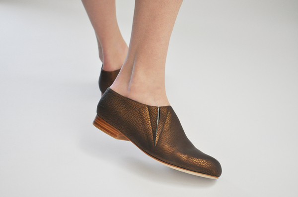 The Palatines Fides Pull-On Bootie in Bronze