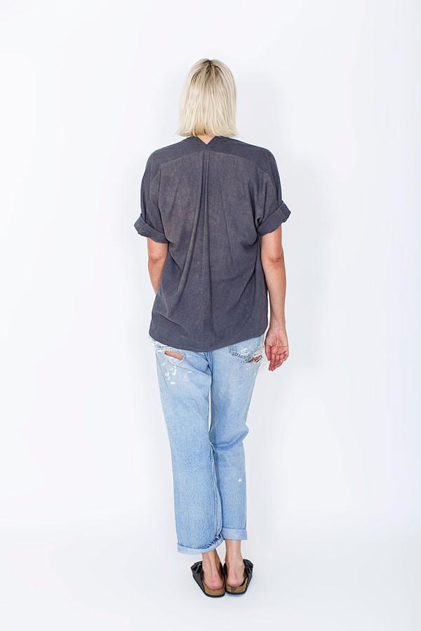 Miranda Bennett Coal Muse Top, Silk