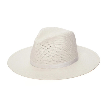 Janessa Leone Aimee Fedora Hat - Ivory