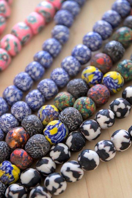 Ghana Goods Necklace - Black/White