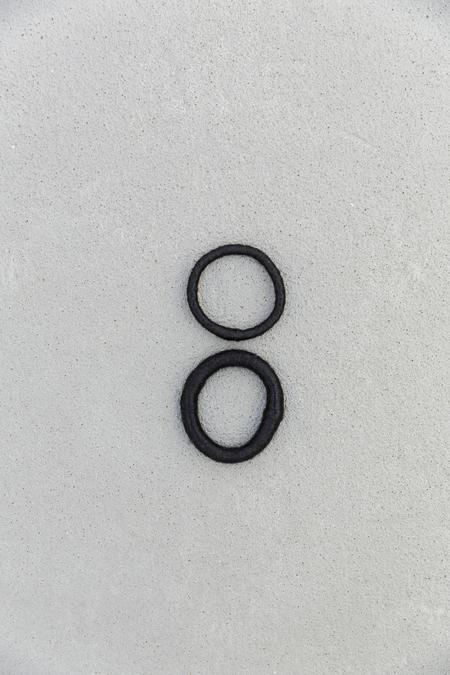 CAVE COLLECTIVE BANGLE SET - BLACK