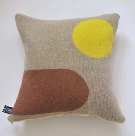 Giannina Capitani Panton cushion no.3 - Yellow