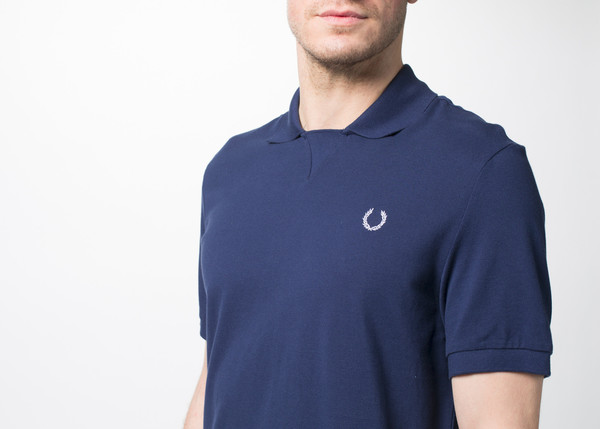 Men's Fred Perry Rib Pique Polo