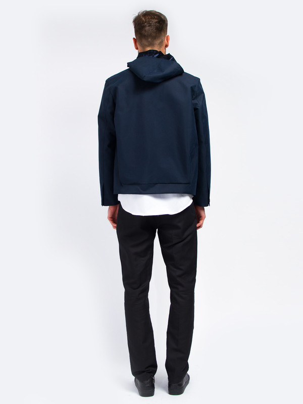 Carlos Campos Hooded Canvas Jacket 36