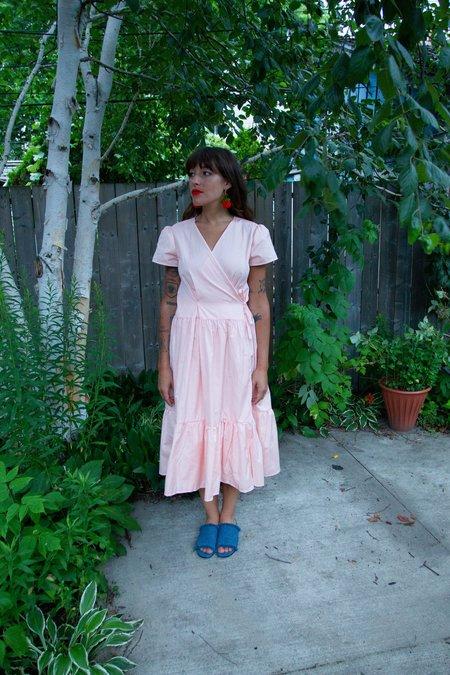 Boneset Picnic Dress - Pink Gingham