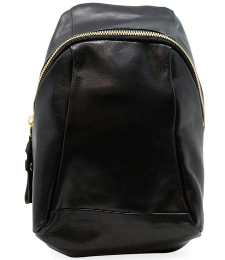 Cornelian Taurus Leather Turtle Shoulder Bag - Black