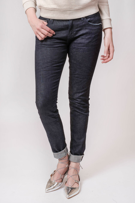 Earnest Sewn Jane Midrise Skinny Jean New York Raw