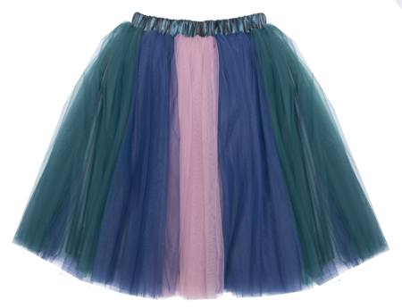 Kids paade mode dolly tulle skirt - Multicolor