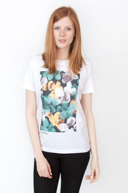 Wood Wood Madison Tshirt White Paint