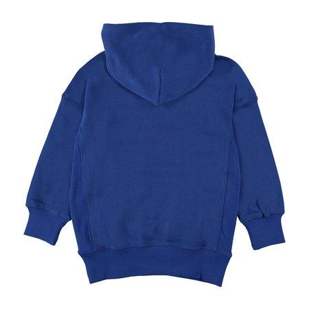 Kids Molo Moz Hoodie - True Blue