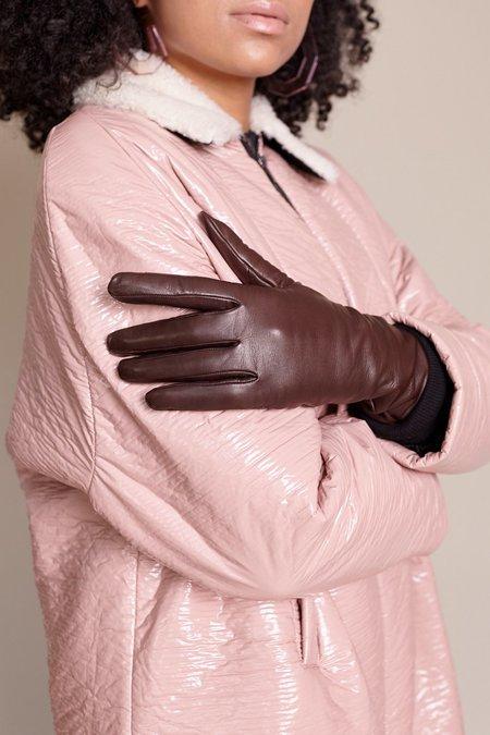 Clyde Lambskin Gloves - Espresso