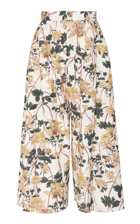 Christine Alcalay Pleated Wide Leg Trouser