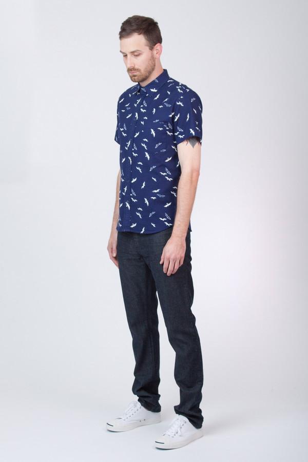 Men's Corridor Seagulls Short Sleeve Shirt