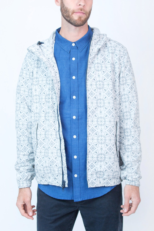 Men's Woolrich John Rich & Bros Southbay Print Jacket