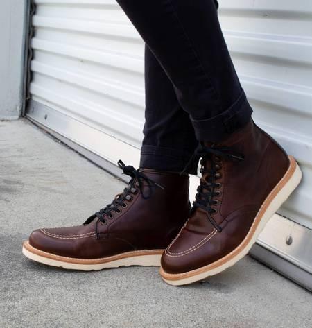 Sutro Footwear Ellington Vibram boot - Mahogany