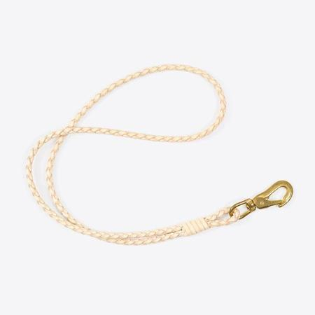 Rothirsch Braided Leather lanyard - Natural