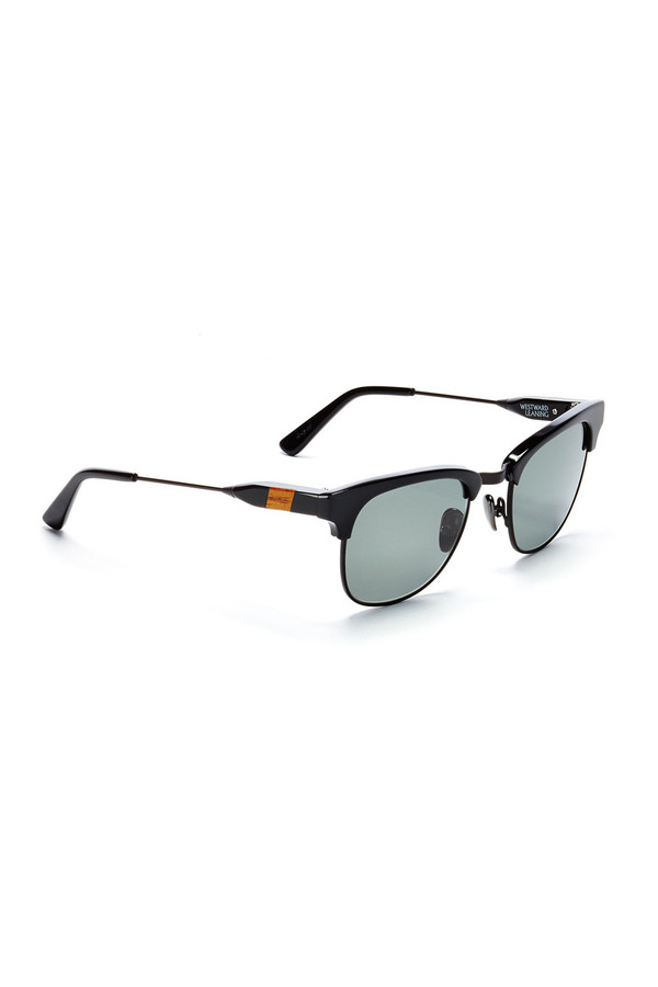 Men's Westward Leaning Vanguard 1 Sunglasses Black Shiny